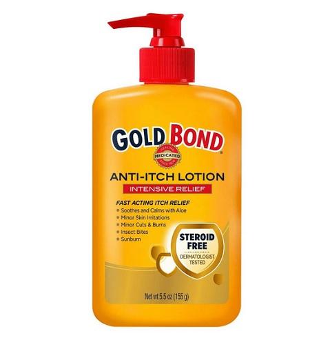 gold bond anti itch lotion